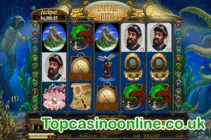 Captain Nemo Online Slot