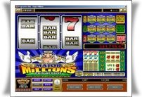 Major Millions Slot - Mummys Gold Casino